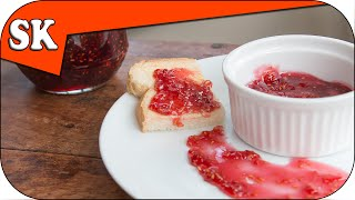 Homemade Raspberry Jam - Quick And Easy