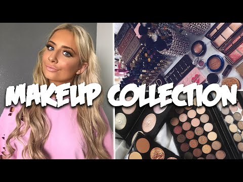 My HUGE makeup collection & storage 2017 !!! 😱😍😭