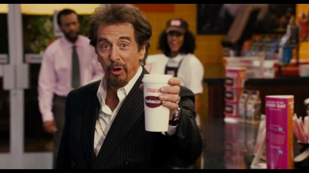 Singing and Dancing AL PACINO in DUNKACCINO Commercial in ...