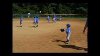 Coltons First T Ball Game 9 14 13 Atlee Little League Richmond