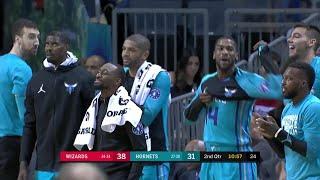 2nd Quarter, One Box Video: Charlotte Hornets vs. Washington Wizards