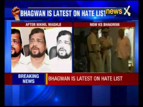 Kannada rationalist K S Bhagwan threatened
