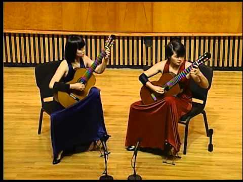 CCBC Music Forum    9-18-2015    The Beijing Guitar Duo