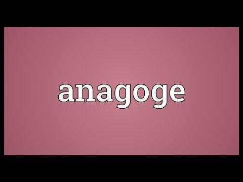 Header of anagoge
