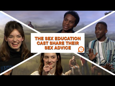 The cast of Sex Education share their sex advice