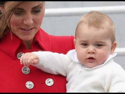 ROYAL TOUR : William, Kate and Baby George Begin Tour Of New Zealand, Australia