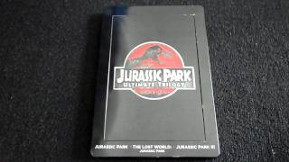 Jurassic Park Ultimate Trilogy Blu-Ray Review and Unboxing (Best Buy Exclusive Steelbook)