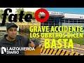 FATE: Otro grave accidente y los trabajadores pararon la fábrica