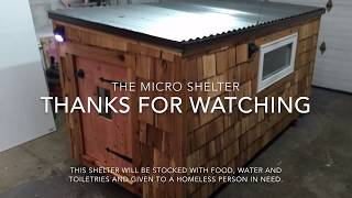 Micro Shelter Build