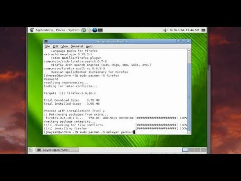 Arch Linux Installation Tutorial Part 2: Setting up Xorg, Gnome and Pulseaudio