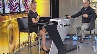 Mine Uzunyol Beautiful Turkish Tv Presenter 24.01.2013