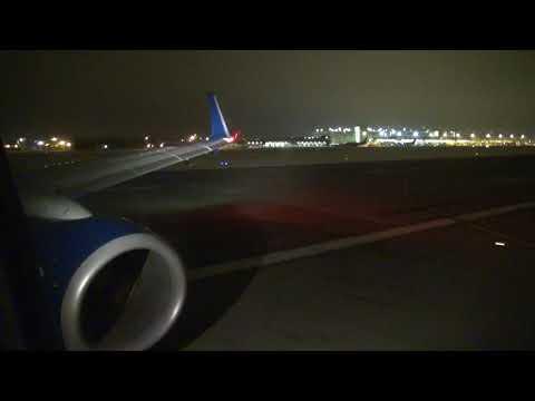 Delta 737-900ER takeoff from Minneapolis/St Paul MSP