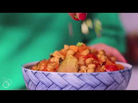 Slow Cooker Vegetable Curry With Chickpeas
