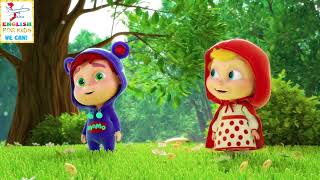 Học tiếng Anh qua bài hát cùng MoMo P4 MoMo lạc vào xứ sở cô bé quàng khăn đỏ