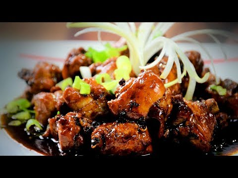 Chinese Spicy Chicken With Honey (Chinese Style Cooking Recipe)