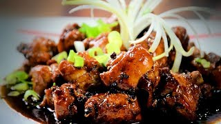 Chinese Spicy Chicken (Asian, Chinese Spicy Chicken Recipe) With Honey