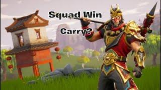 Fortnite Squad Win + Extras