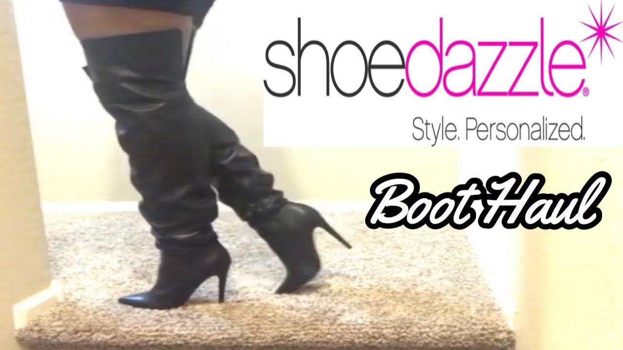 dcda56f2218 SHOEDAZZLE BOOT HAUL!! - YouTube