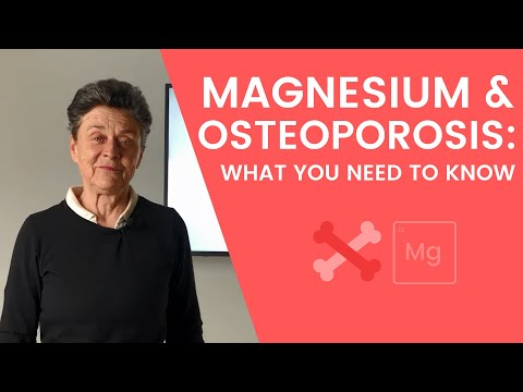 Magnesium & Osteoporosis: What You Need to Know