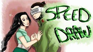 SPEED DRAW : Shino and Sashika Aburame