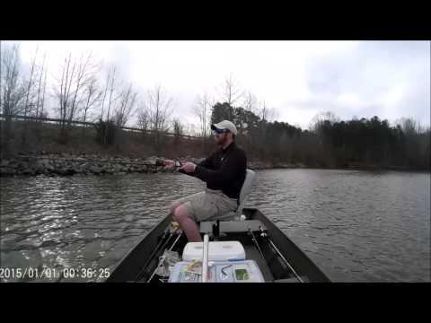 Sandy River Reservoir Bass Fishing