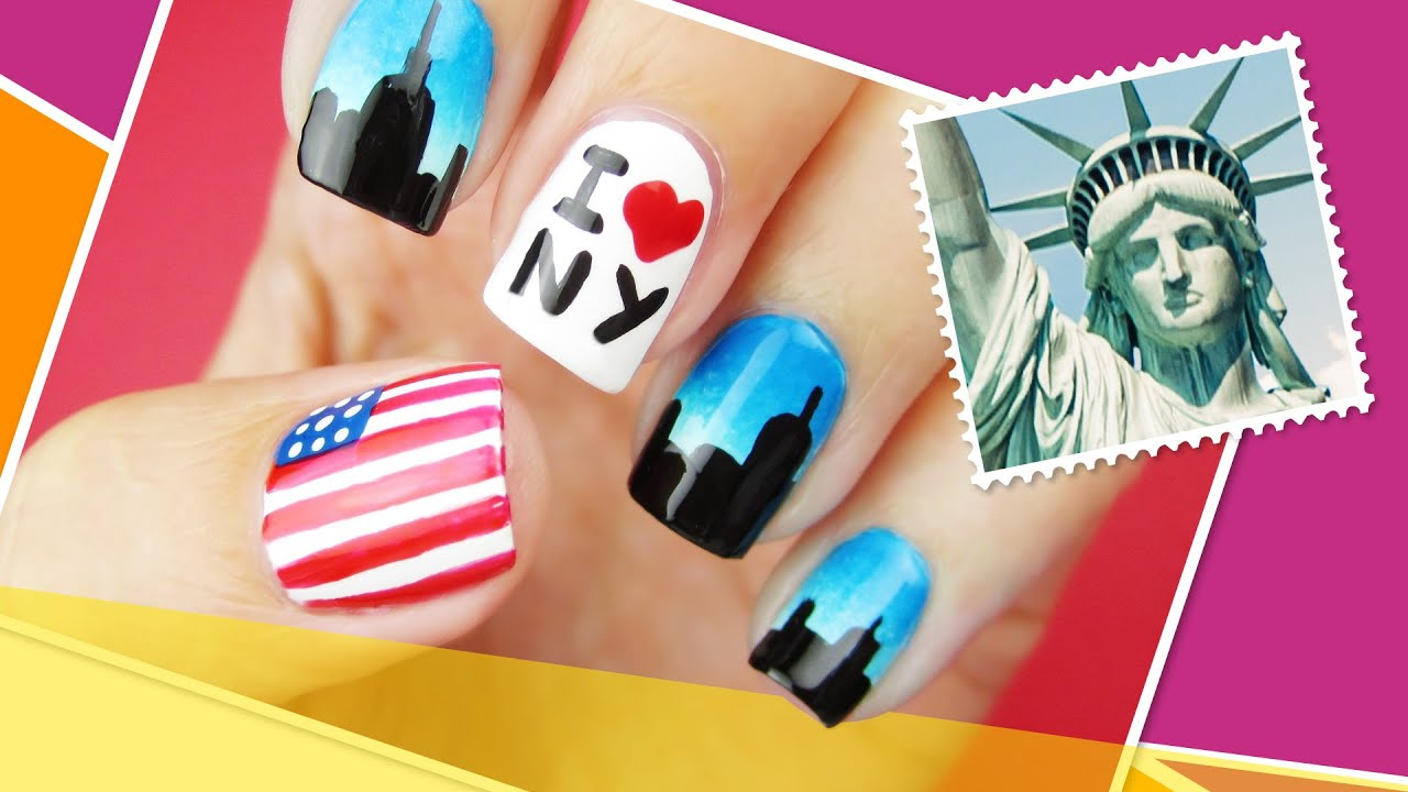 New York Inspired Nail Art ∞ The World At Your Fingertips w ...