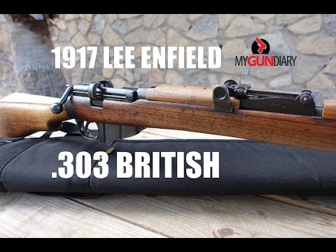 1917 British Lee Enfield - SMLE - Shooting for the First Time