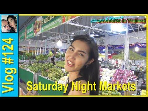 Vlog 124 - Saturday Night Markets
