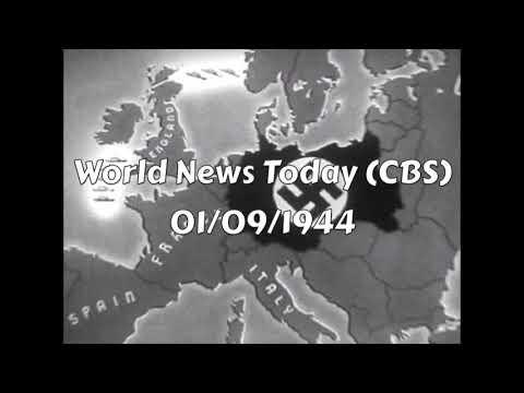 WW2 Radio News: 1944 (Part 1)