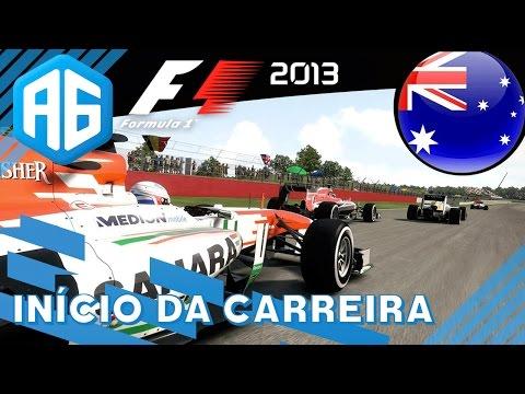 F1 2013 - 0 INÍCIO DA CARREIRA...QUASE LEVEI BANDEIRA PRETA NA CLASSIFICAÇÃO (Português-BR)