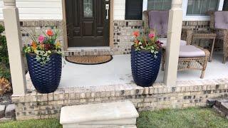 front porch concrete leveling
