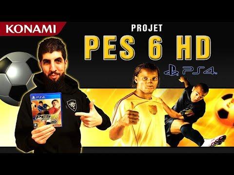 NOUVEAU PROJET PES 6 HD ?!
