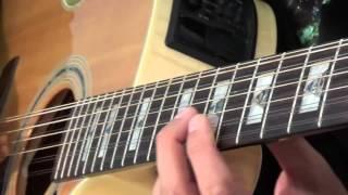 Canon Rock Acoustic Guitar Lesson - Part 1 - Rhythms
