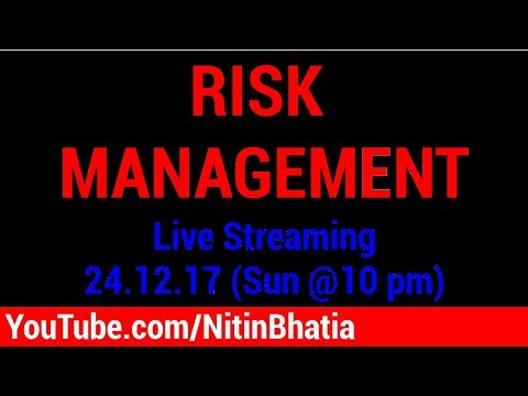🔴 Risk Management | YouTube LIVE Streaming and Q&A | Hindi