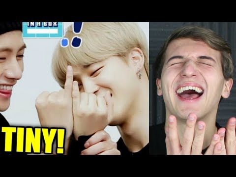 An Introduction to BTS: Jimin Version Reaction [HIS HAND ARE TINY!!!]