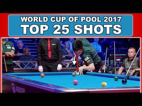Make TOP 25 SHOTS World Cup Of Pool 2017 Snapshots