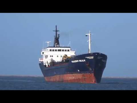TRADER BULK inbound Liepaja port