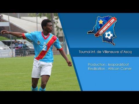 RD Congo U17 - Aile Europe - Tournoi internationale de Villeneuve d'Ascq
