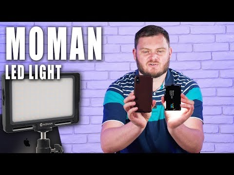 МОЩНЫЙ и КОМПАКТНЫЙ! Moman On-Camera LED, обзор видеосвета.