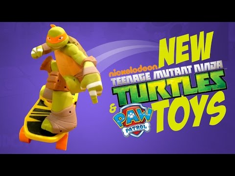 NEW Teenage Mutant Ninja Turtles Toys And NEW Paw Patrol Toys From Nickelodeon TTPM TMNT