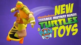 NEW Teenage Mutant Ninja Turtles Toys and NEW Paw Patrol toys from Nickelodeon TTPM TMNT