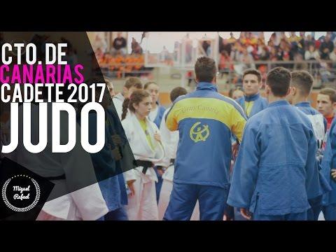 Cto. Canarias CADETE Judo 2017