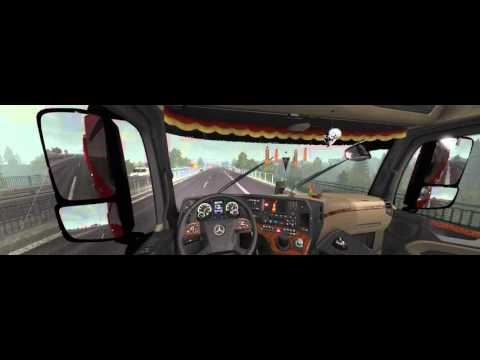 [GIẢ LẬP] Test Kỹ năng lái xe đầu kéo hạng nặng