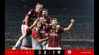 (HL) AC Milan vs Cagliari | Serie A - 27/08/2017