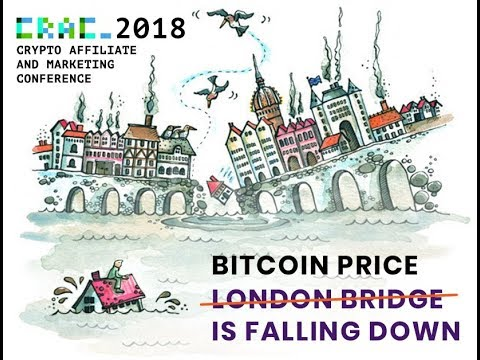 Bitcoin price is falling down