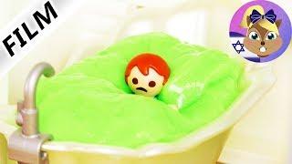 סרט פליימוביל - מחלת הצפרדע? למה אמה צריכה לעשות אמבטיית סליים?