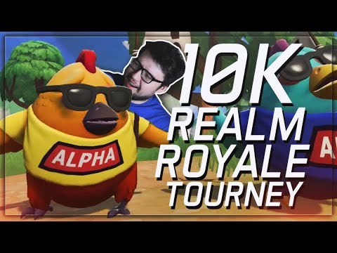 DYRUS | $10,000 REALM ROYALE TOURNAMENT FT. OVERPOWERED