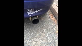 invidia exhaust in corolla e11 g6s by tte