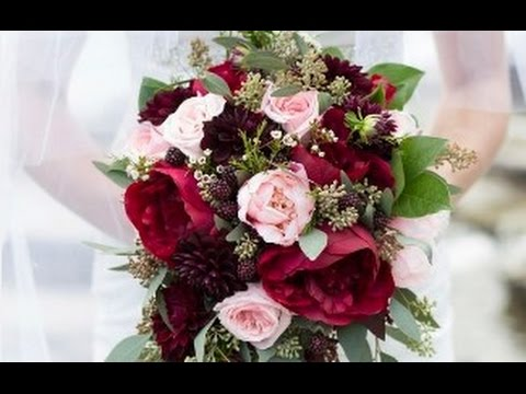 burgundy-rose-wedding-bouquet
