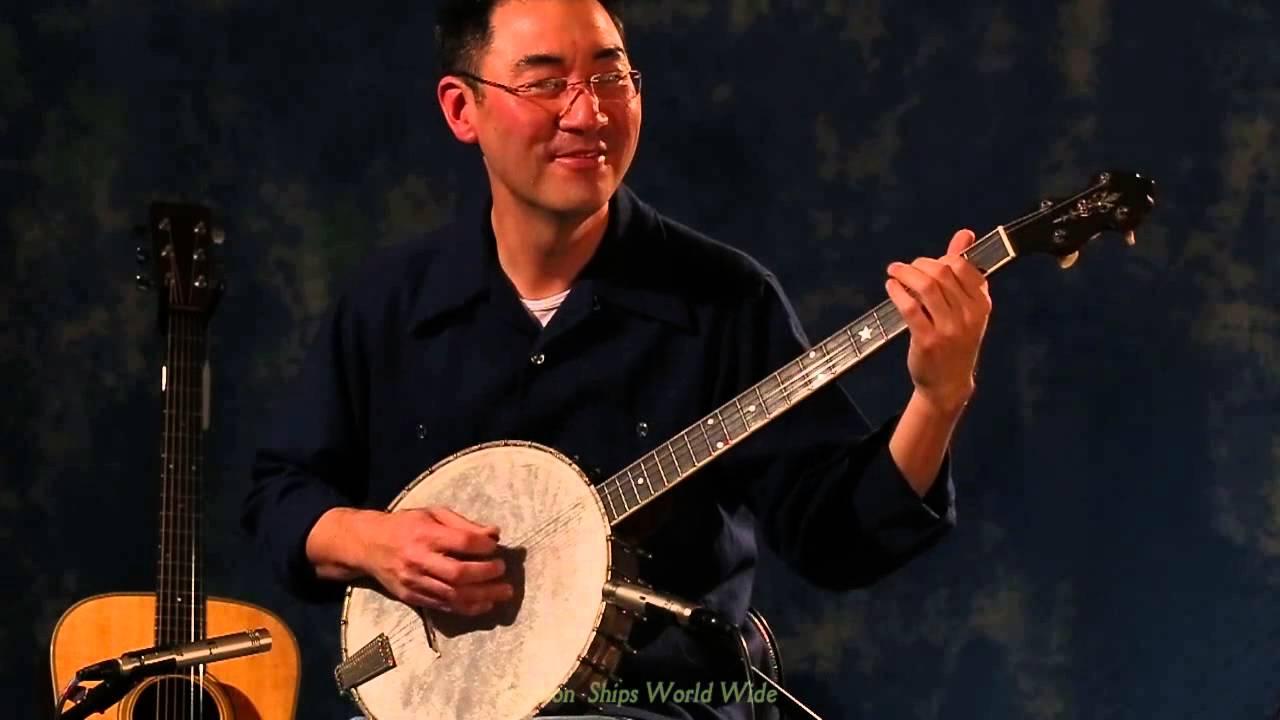 1923 Vega 5-St  Plectrum Tubaphone banjo demo by Larry Chung